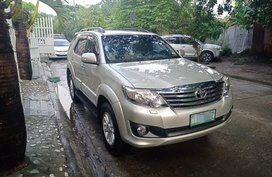 2012 Toyota Fortuner G Gas Automatic