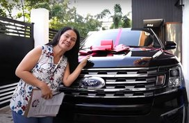 Ivana Alawi gets Ford Expedition SUV as new year's gift for mom