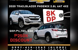 2020 TRAILBLAZER PHOENIX - 8K DP (based on 25% DP)