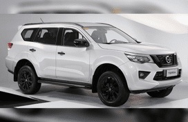 Dechromed 2021 Nissan Terra VL coming to local lineup soon