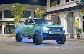 This modified Nissan Navara packs more than just monstrous look