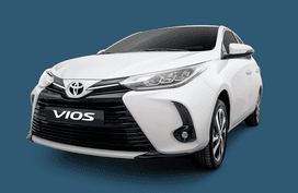 Drive a Toyota Vios for less than P6,500 monthly payment