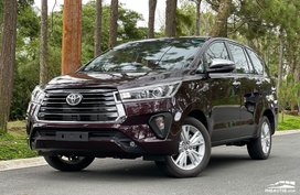 Facelifted 2021 Toyota Innova now official with P1.186M starting price