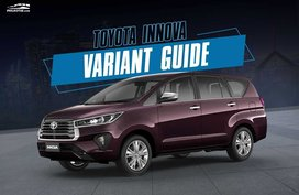 Which 2020 Toyota Innova variant should you buy? [Comparison Guide]