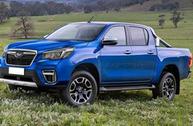 This is what happens when the Hilux and Forester elope