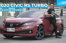 2020 Honda Civic Turbo RS Review: On Fire   Philkotse Philippines