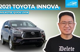 Facelifted 2021 Toyota Innova Quick Look: New Face, Still Philippine-Made