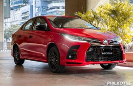 2021 Toyota Vios GR-S now in PH with P1.020M starting price