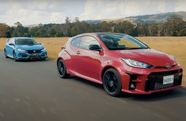 Can the Toyota GR Yaris beat the Honda Civic Type R in a drag race?