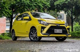Toyota Wigo comes with P5.2K downpayment this month