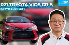 2021 Toyota Vios GR-S Quick Look: Pimping up the bestseller   Philkotse Philippines