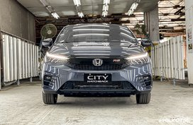 There's a good reason why Honda City Hatchback only has one variant