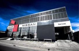 Newly-opened Nissan Valenzuela is the first to have brand's new logo