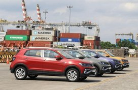 First batch of Volkswagen T-Cross units now on Philippine shores