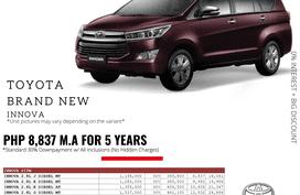 2021 Toyota Innova  2.0 E Gas AT