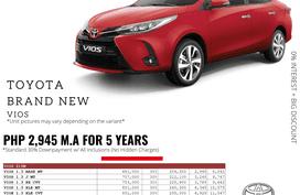 2021 Toyota Vios 1.3 XLE CVT
