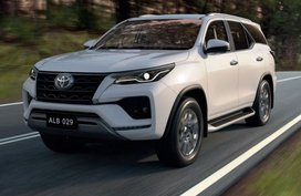 The Toyota Fortuner gets a tech update for 2022