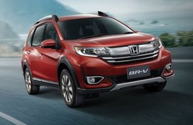Honda BR-V available with P60K cash discount this June