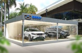 Geely pop-up showroom now open to serve customers in Alabang