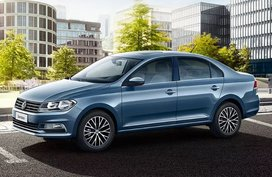 Drive home a brand-new Volkswagen Santana for only P599K this month