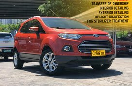 Pre-owned Orange 2014 Ford EcoSport Titanium A/T Gas for sale