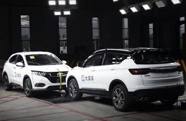 Honda HR-V and Geely Coolray literally go head-to-head