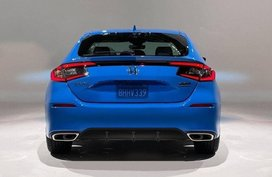 See the Honda Civic Hatchback before you're supposed to