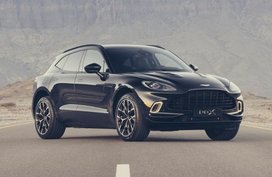 Aston Martin DBX arriving in the Philippines in July