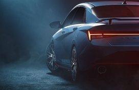 2022 Hyundai Elantra N previews its sporty, aggressive exterior
