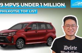 Top 9 MPVs under 1-million pesos   Philkotse Top List