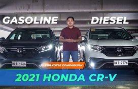 2021 Honda CR-V Gas vs Diesel Comparison   Philkotse