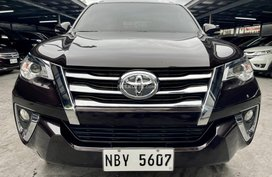 Black 2017 Toyota Fortuner  Automatic for sale