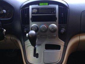 Hyundai G.starex 2011 Gasoline Automatic Beige