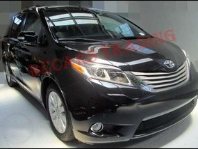 2016 Toyota Sienna Limited stock on hand