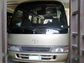 2004 LMTD. Toyota Coaster Diesel 36Tkm Manual - 2TvDvd USB REF