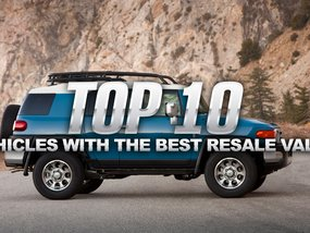 Top 10 Best Resale Value cars in 2017