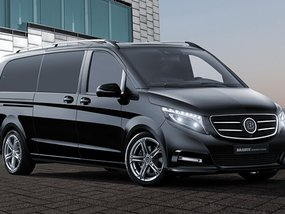 The Brabus V-Class with lavish in-car entertainment