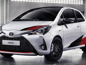 A 210hp, 1.8-liter supercharged engine in the all-new Toyota Yaris GRMN
