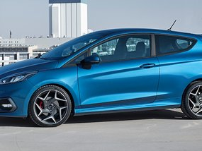 The new Ford Fiesta ST with a promising three-cylinder engine