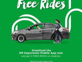 SM in collaboration with Grab to give mall-goers free and discounted rides.