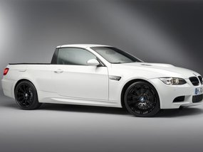 Rendering of BMW X5-based Pickup truck