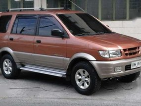 2005 Isuzu Hilander Crosswind XUV manual TV not Revo Adventure