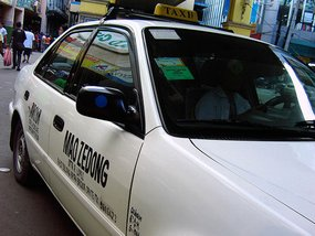 Taxi drivers' group protests TNC operators