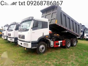 Faw dump truck 340hp Tractor head Cargo truck brand new for sale