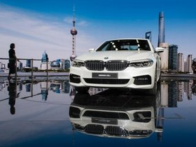Long Wheelbase BMW 5-Series Li revealed at 2017 Shanghai Auto Show