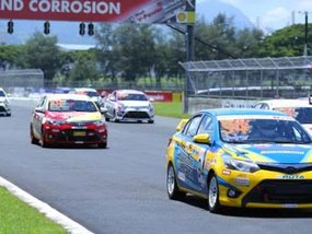 Feel the heat of this year's Toyota Vios Cup