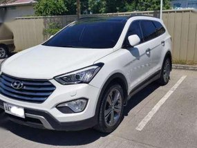 Hyundai Grand Santa Fe 2.2 CRDi 6AT 4WD Dsl Premium A White 2014