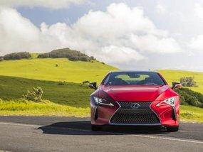 """Lexus declares its """"amazing"""" 2018 LC 500"""