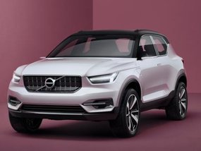 Sneak preview of Volvo XC40 through official renderings