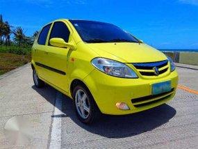 Yellow car Chana Benni 2008 model year. 1.3 L gas. Manual. Local.